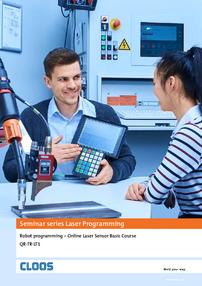 CLOOS: Robot programming – Online Laser Sensor Basic Course