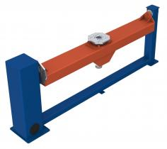 Workpiece Positioner with turning/swivelling movement and fixed counter bearing