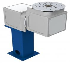 Workpiece Positioner with swivelling and horizontal rotation