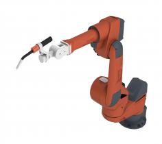 Robot mechanics Classic wrist with enlarged operating range by 7th axis
